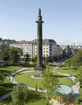 View over St Andrew Square to our offices
